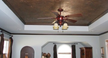 classic marbled drop ceiling decorating ideas