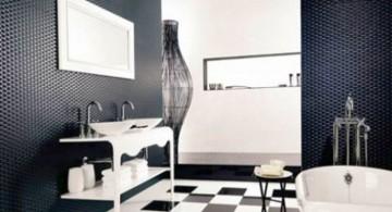 classy black bathrooms ideas