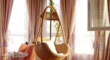 classy half swing bedroom swing chair