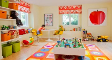 colorful kids playroom design ideas