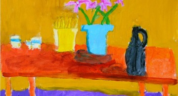 colorful simple painting ideas canvas