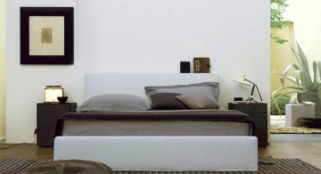 contemporary bedding ideas for small room