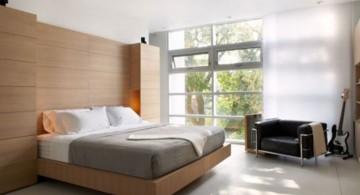 contemporary bedding ideas with no headbed
