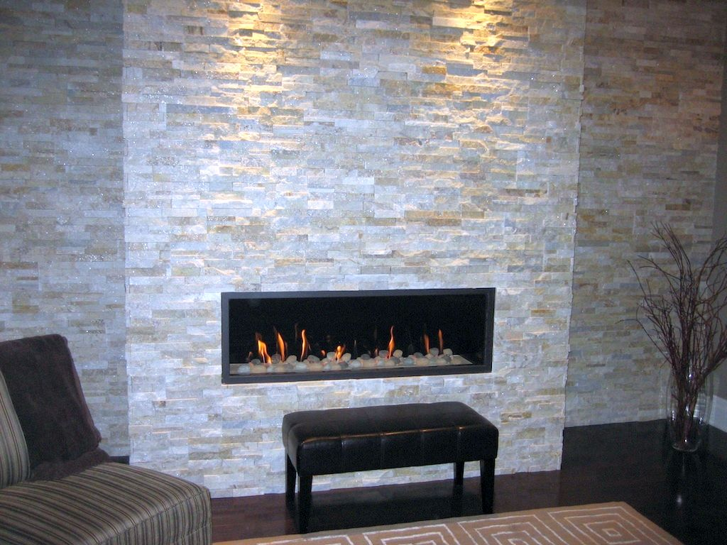 stacked stone fireplace contemporary built in stack fireplaces 10050