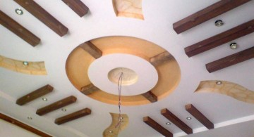 contemporary circular drop ceiling decorating ideas