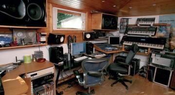 contemporary music room designs