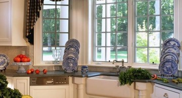 contemporary swag valance patterns