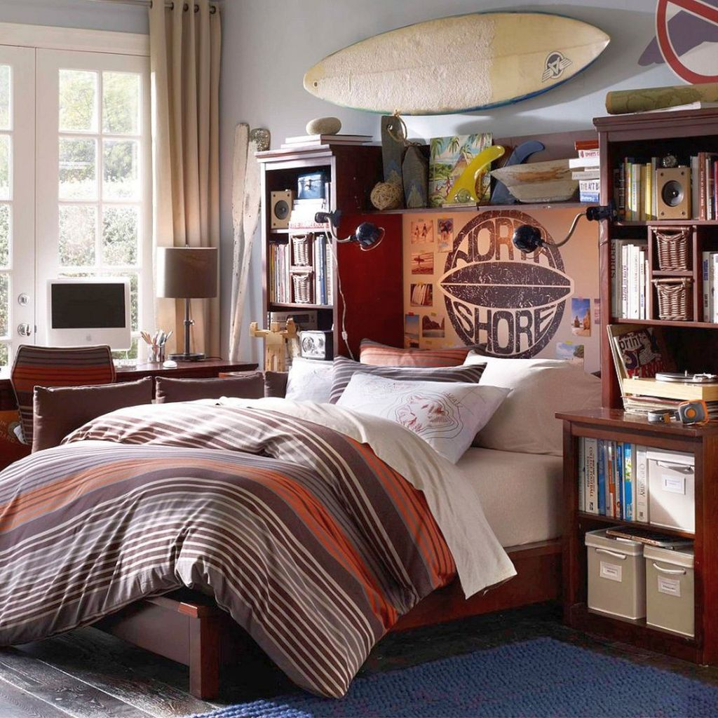 17 Cool Bedrooms for Teenage Guys Ideas on Cool Bedroom Ideas For Teenage Guys  id=49840