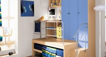 cool bedrooms for teenage guys with smart compartments bunk in very small space