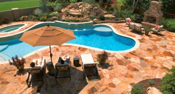 cool free formed pool shapes and designs