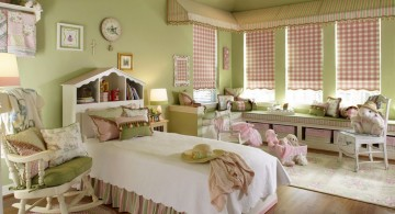 cool green pastel-colored room designs