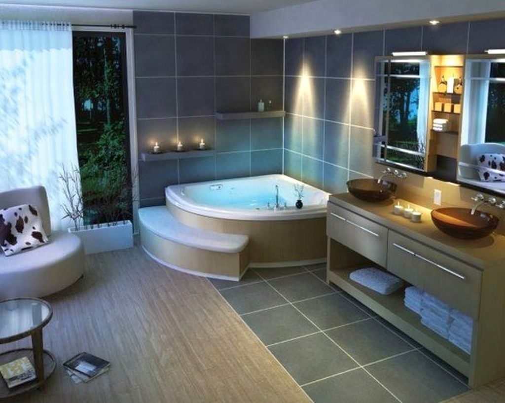Inspirational Corner Hot Tub Photos Of Bathtub Style