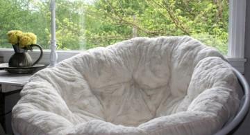 cozy modern papasan chair