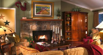 cozy rustic living room ideas for small houses