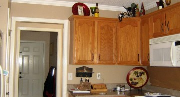 cream and varnished cabinet popular paint colors for kitchen