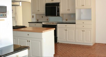 cream colored popular paint colors for kitchen