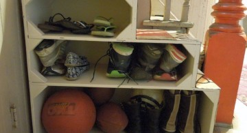 creative shoe cabinets design ideas under the stairs