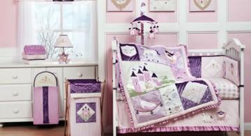 cute baby girl bedding ideas in fairy tale themed