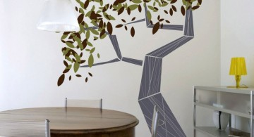 decadent tree cool painting ideas for bedrooms