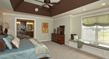 deep tray ceiling bedroom