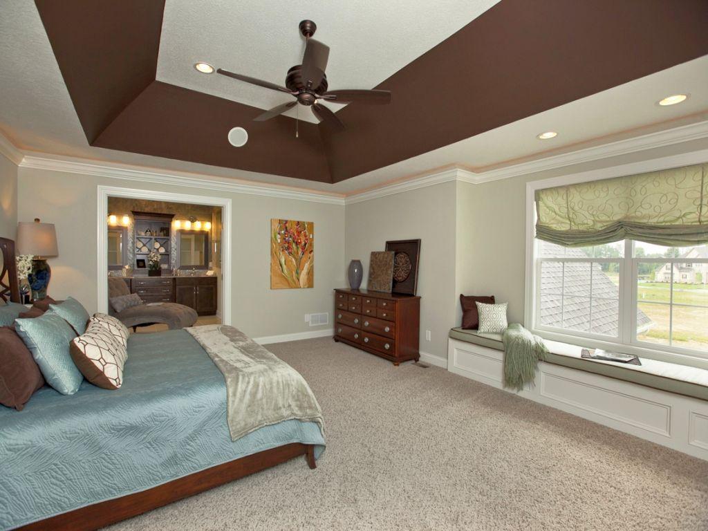 ideas for painting sloped ceilings in bedrooms - 20 Elegant Modern Tray Ceiling Bedroom Designs