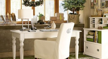 elegant and classy stylish home office