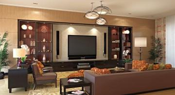 elegant entertainment room