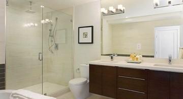 elegant in white light Bathroom vanity lighting ideas