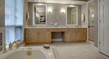 elegant master bathroom lighting ideas