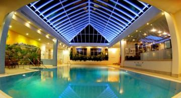 exquisite indoor swimming pool in London