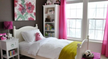 feminine in pink teenage girls room inspiration designs