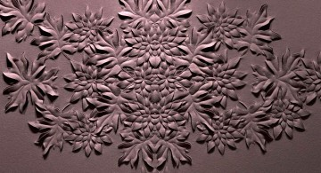 flower bouquet interior textured wall designs