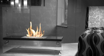 freestanding fireplaces designs for bedrooms