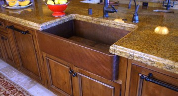 freestanding kitchen sinks with oak wood cabinet