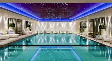 glamorous indoor swimming pool