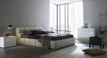 glamorous modern mens bedroom
