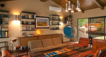 hang out room ideas in earth tones