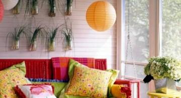 hanging flower vase for small living room