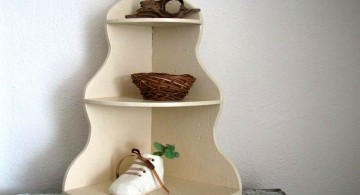 hanging shelf corner shelf designs