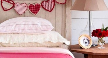 heart link diy bedroom art