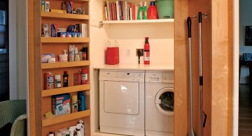 hidden machines small laundry room designs