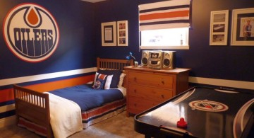 hockey bedrooms for Dilers fans