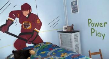 hockey bedrooms for kids