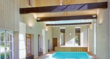 indoor swimming pool designs with low bars