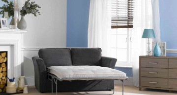 industrial two seater small sofa beds for small rooms