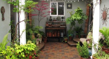 japanese garden designs for small spaces with gardening tools