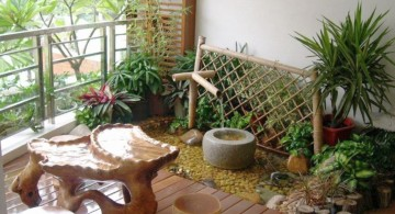 japanese garden designs for small spaces with small bamboo fountain