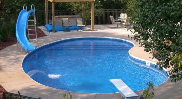 kidney shaped pool shapes and designs for kids pool