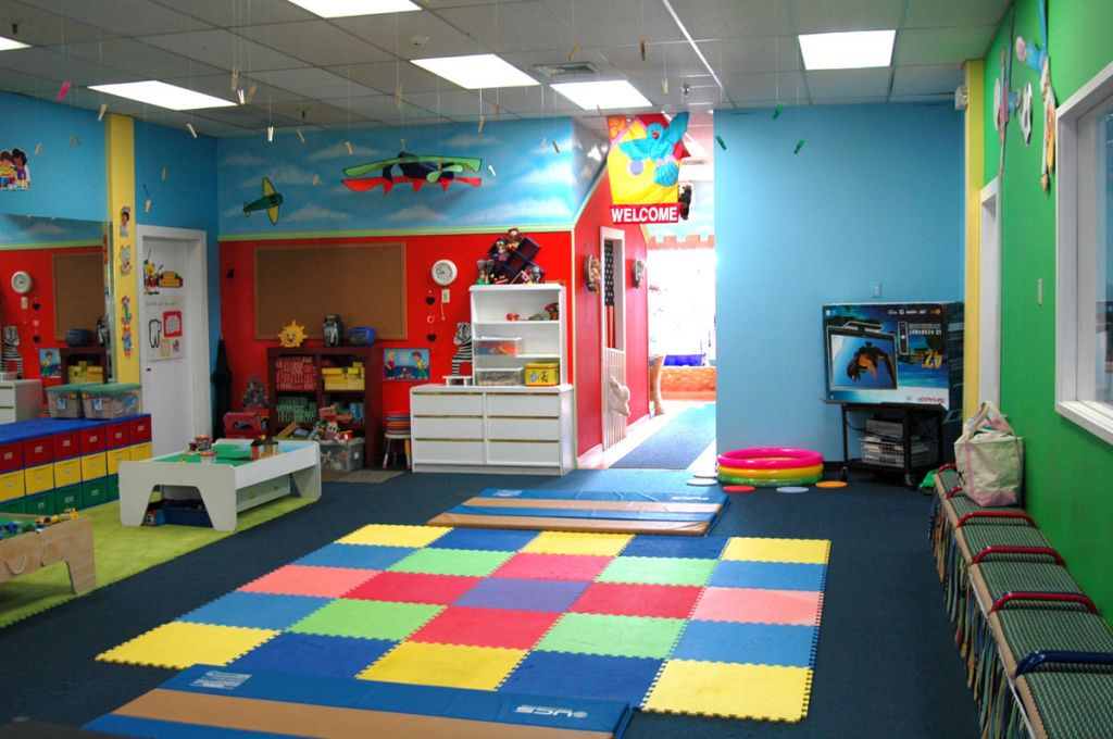 Playroom Design Colorful