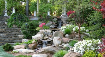 landscaping designs with big rocks